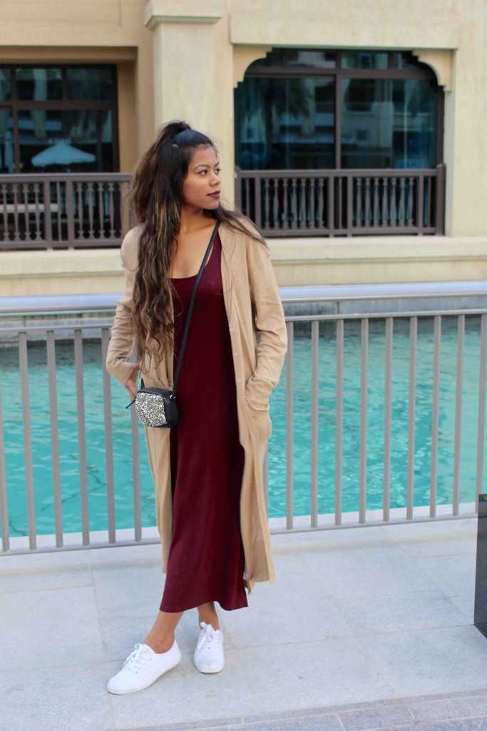 Wintery maroons & nude layers | The tropical buzz