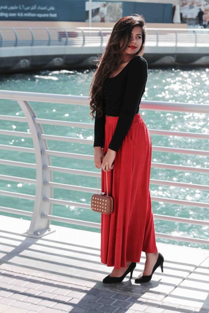 Dubai blogger