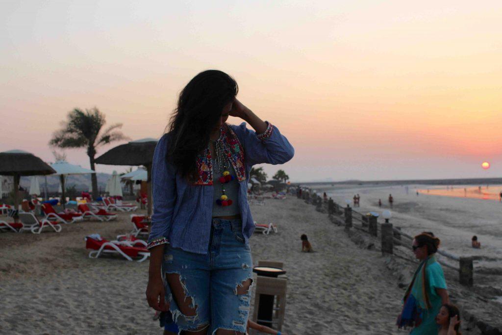 Sunset ootd