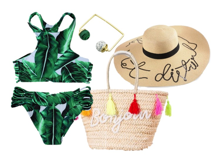 Beach trends tropical