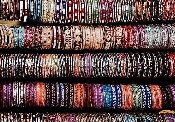 Street shopping at Jaipur serving us some serious Rajasthani bohohellip