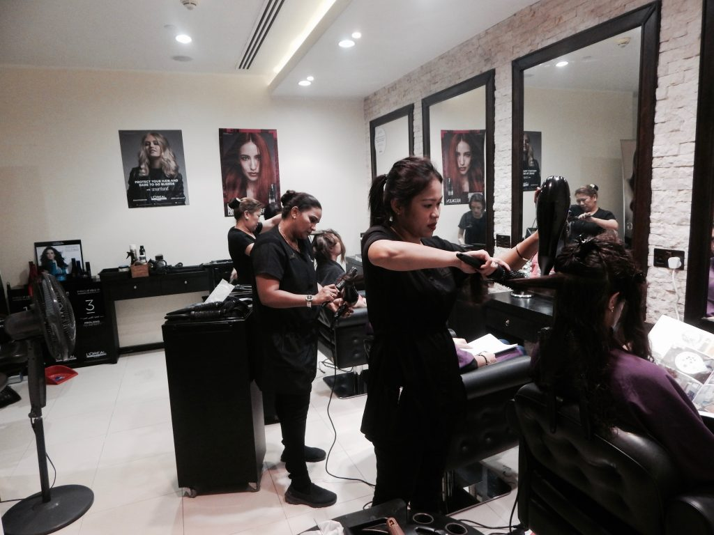 Leading salons in Dubai