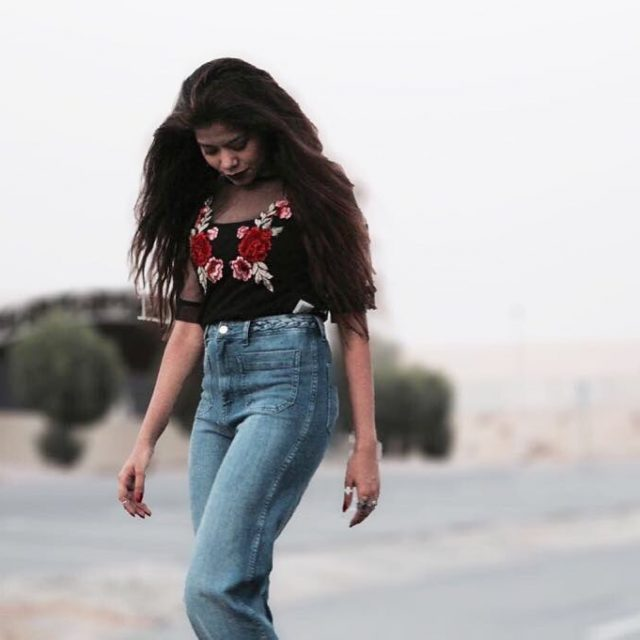 Desert blooms courtesy this stunning mesh embroidered top from troveahellip