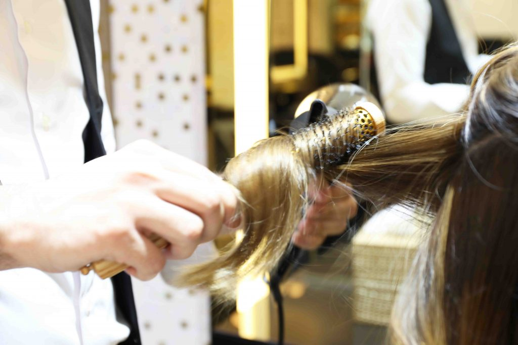 Hair straightening treatment in dubai