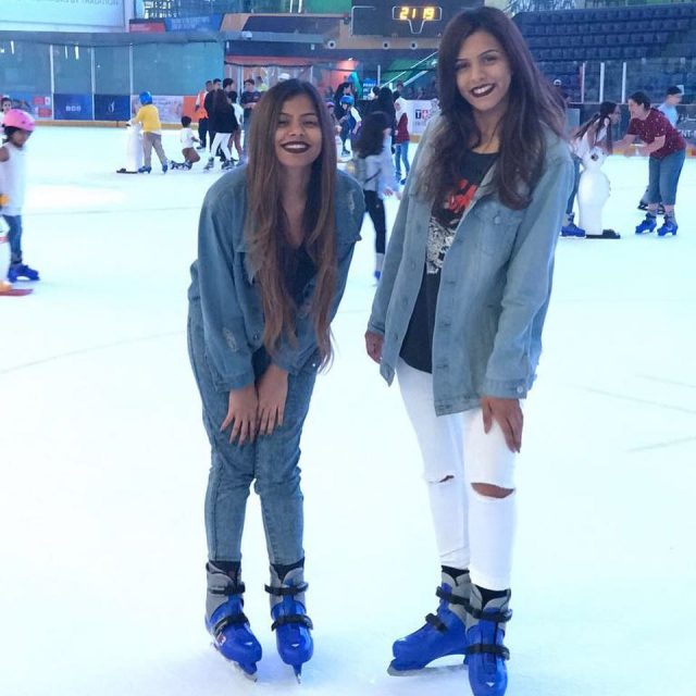 The disco session dubaiicerink was such a fun experience hellip