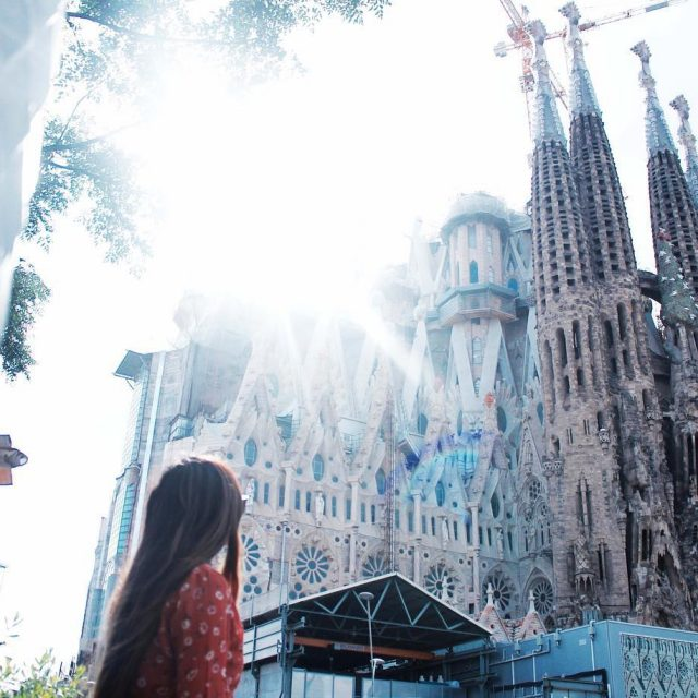 Beautiful mornings in Barcelona city     barcelonahellip