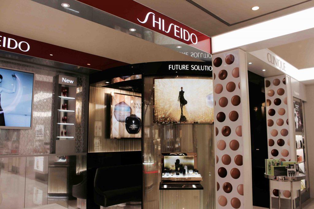 Shiseido booth