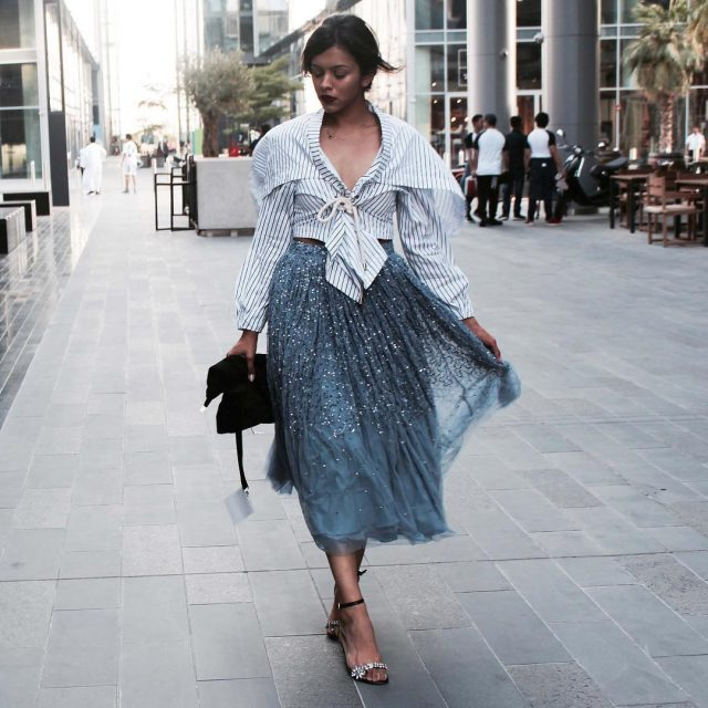 Dressed in asos for day 2 of ffwddxb d3dubai hellip