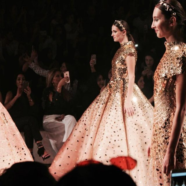 When atelierzuhra debuted ffwddxb with a collection of glitz glamourhellip