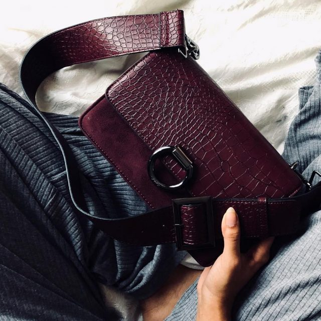 Getting ready for fall with carpisamiddleeast This crossbody suede baghellip