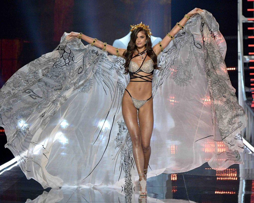 Angel on runway
