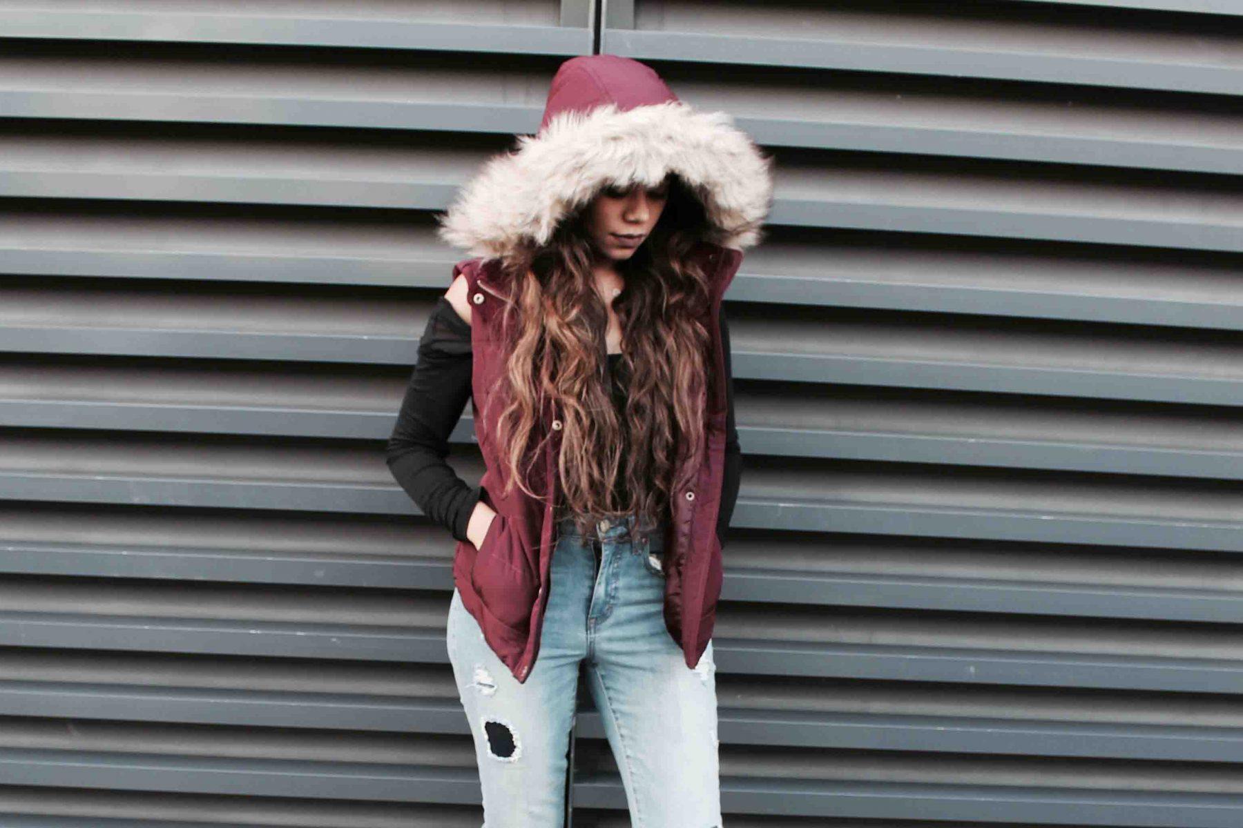 Fur hoodies