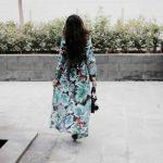 Tropical escape maxi dress