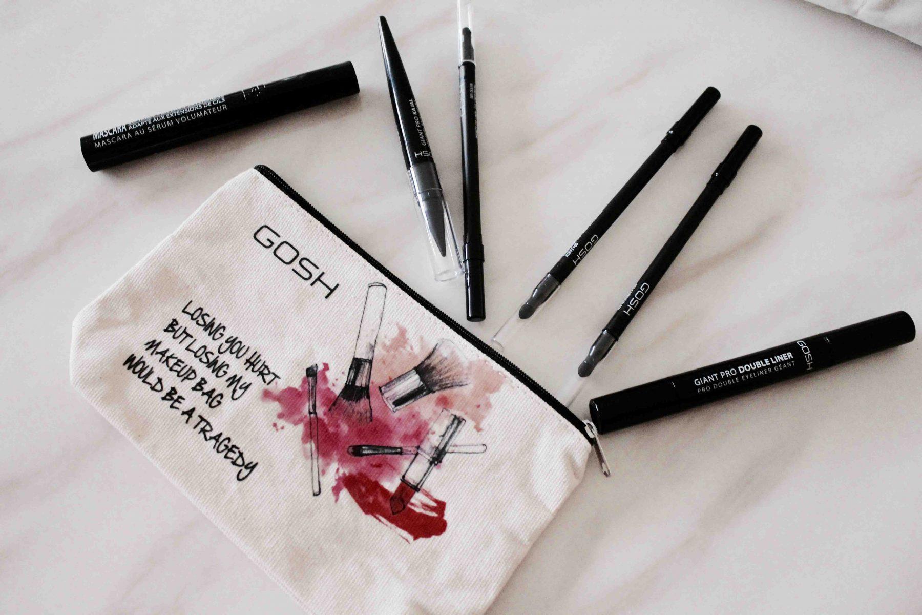 Eye makeup bag
