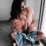 Winter classics: Faux fur coat